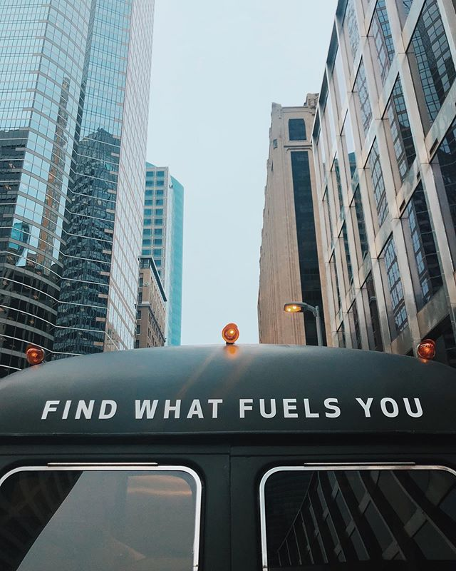 FIND WHAT FUELS YOU - Downtown from 10:30 to 1:30. On 2nd Ave between 5th and 6th.