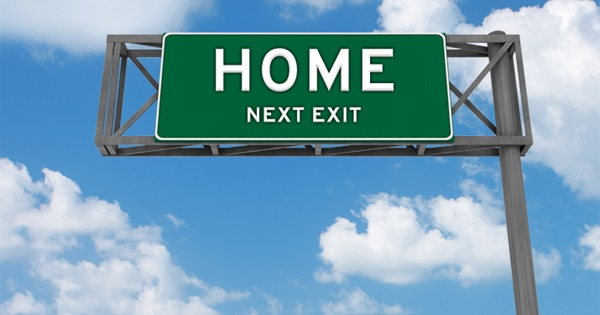 Going Home - Personal blog by Louise Nayer
