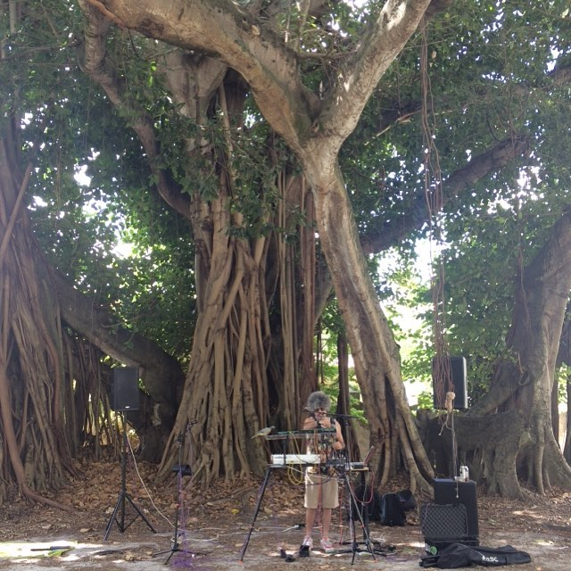Pop up outdoor party right now for @omiamifestival at 5710 SW 35th St…come on down! Starts in about ½ hr (at Coral Gables  Miami  Florida 33134)