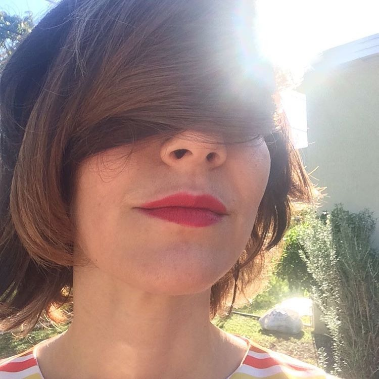 What a day for a hairdream…a steady sunny 70 degrees  (at Miami, Florida)
