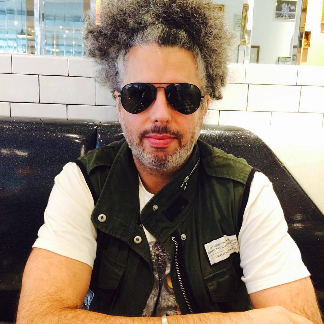 "Tour manager/""the enforcer"" #trickorbeats @telekineticwalrus loving this NYC diner @champs see ya @pianosnyc 2 night"