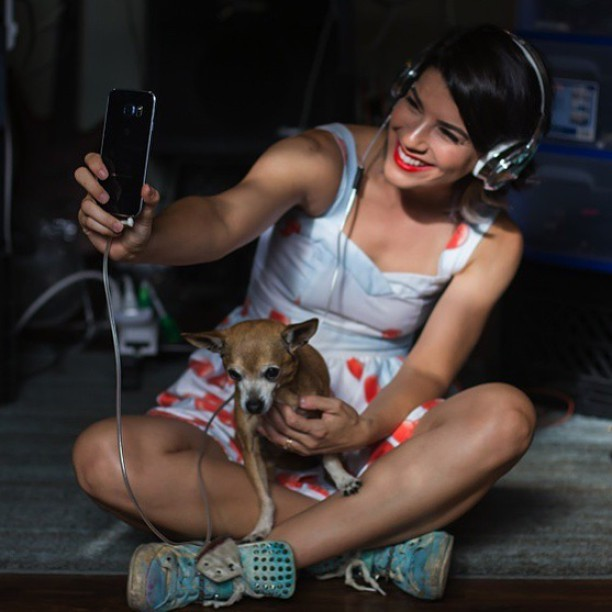 Repost from @att of me and my pup Suki! Photo by @andrewhector