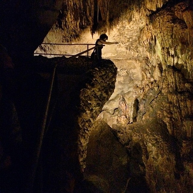 Spelunking in Puerto Rico. 20 million year old cavern #nbd @goodbog adventure time! @je_yogardener @figurem