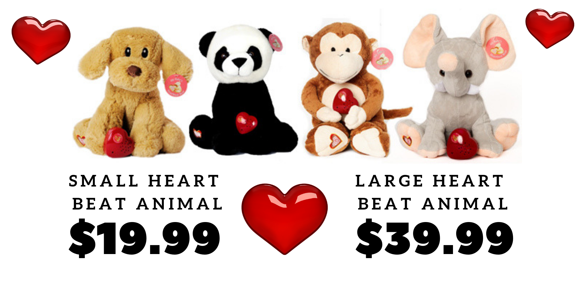 Animals vary by availability. While Supplies last. Animal pictures may differ than available.