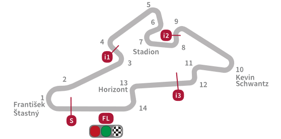 Tsjechië, 2007 - Automotodrom Brno - not recorded
