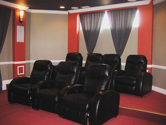 Home theater #basement