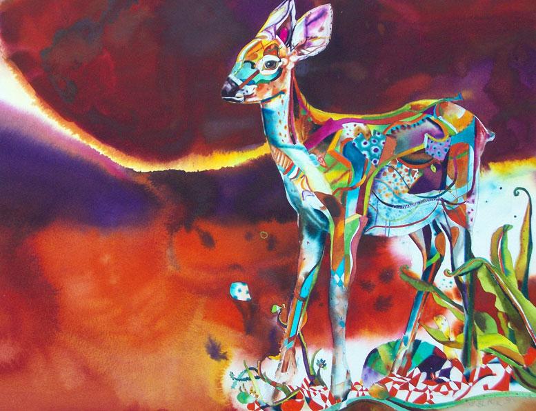 Deer1 fawn 2010