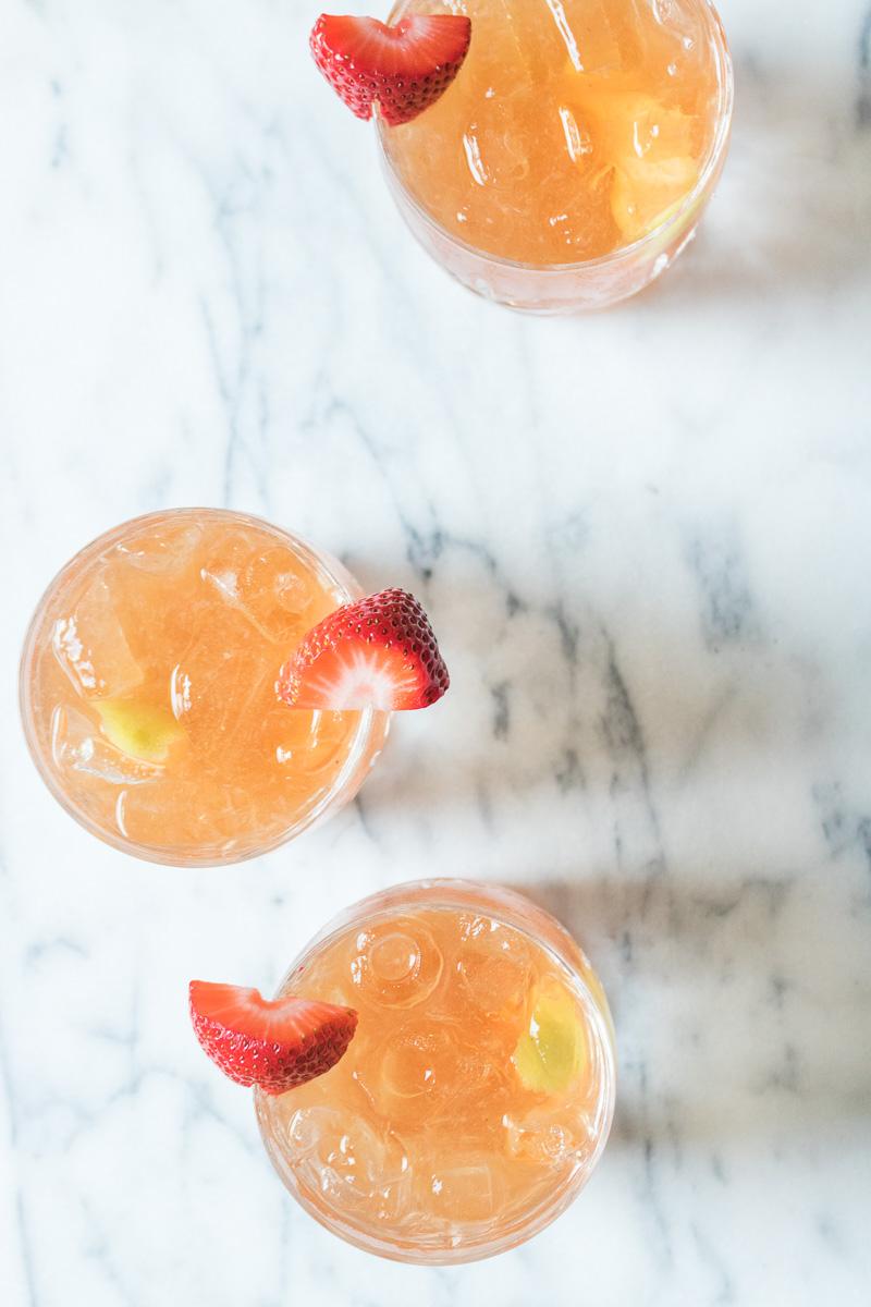 Fraisé Fizz Cocktail | A Dash of This 001