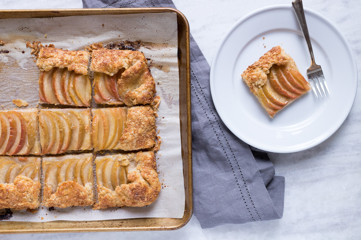 Apple Galette | A Dash of This