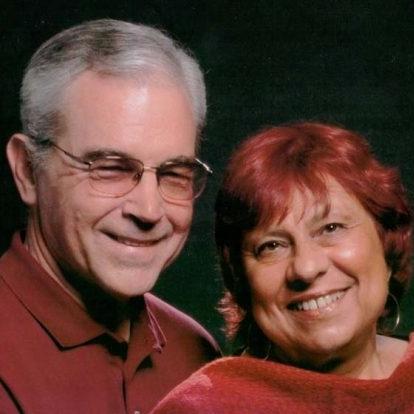 Sandi Genser-Maack and her husband, Lynn Maack.