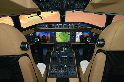 Next generation technology - The Global 7500 has a flight deck with Vision and next generation fly-by-wire technology. The Bombardier Vision flight deck systems have cutting-edge avionics working with exceptional ergonomics and aesthetics for unrivalled comfort and control to ensure the most complete flight envelope protection.