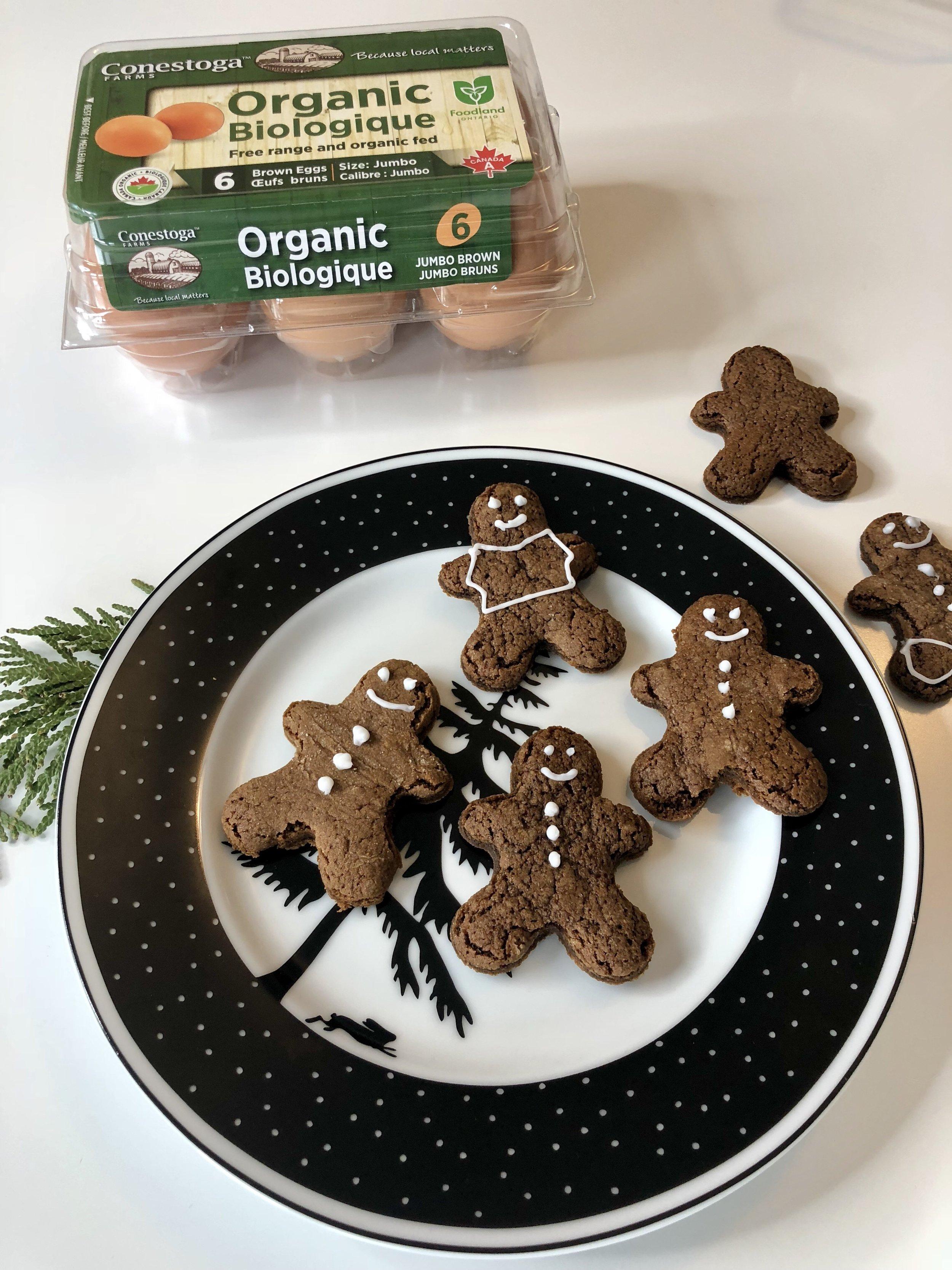 gluten free dairy free gingerbread men recipe