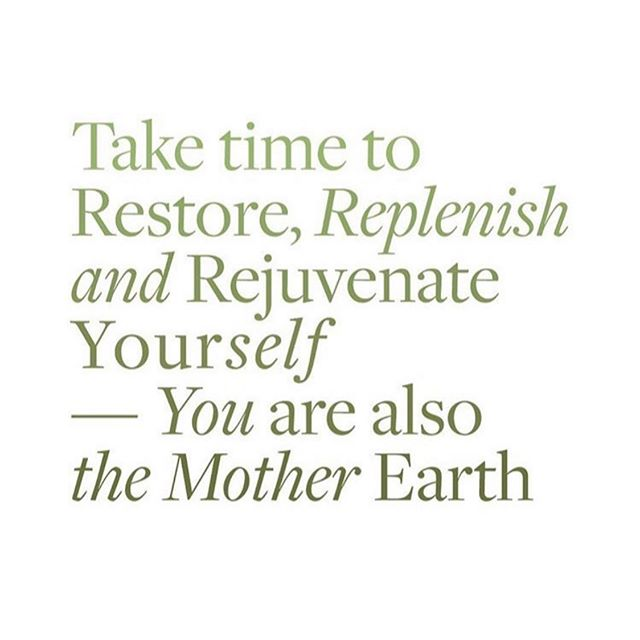 Just take a minute babes 🍃  How are you restoring and resting this weekend?