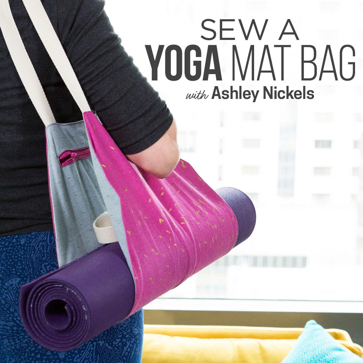 Yoga Mat Bag Creativebug