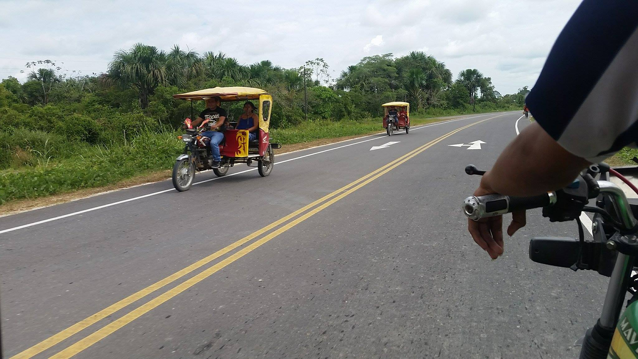 """The accident happened in the middle of the night, so this isn't a picture of the tuk tuk involved; rather, it's just here to show what a """"tuk tuk"""" is."""