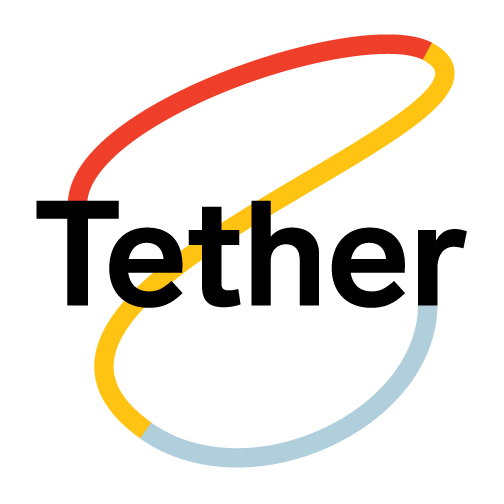 The main Tether identity. Working on this has been one of my favorite parts of the project!