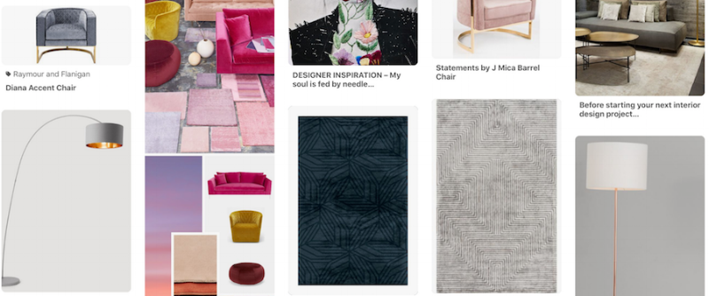 A peek at set designer Yvonne Ballard's Pinterest board for the event