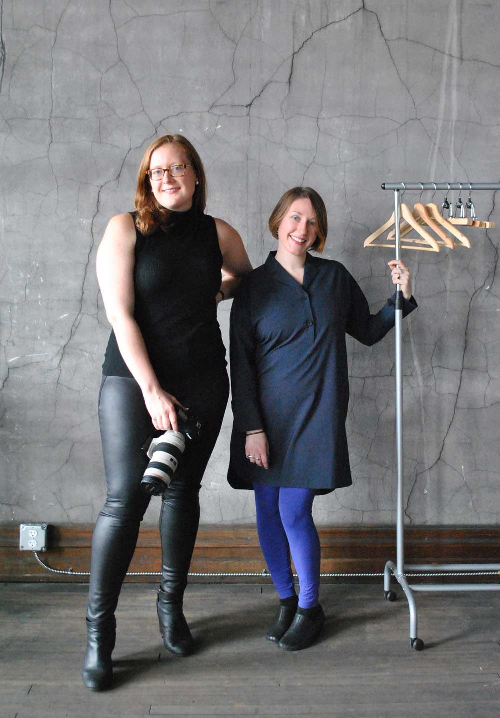 820: Studio Founders Claudia Hershner (left) and Chelsea Cutrell (right).