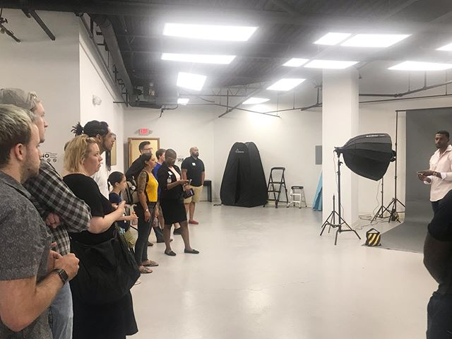 Thanks to everyone who came out to @studiocincy for networking and playtime!  #tethercincy #creativehub #cincinnatiphotographers