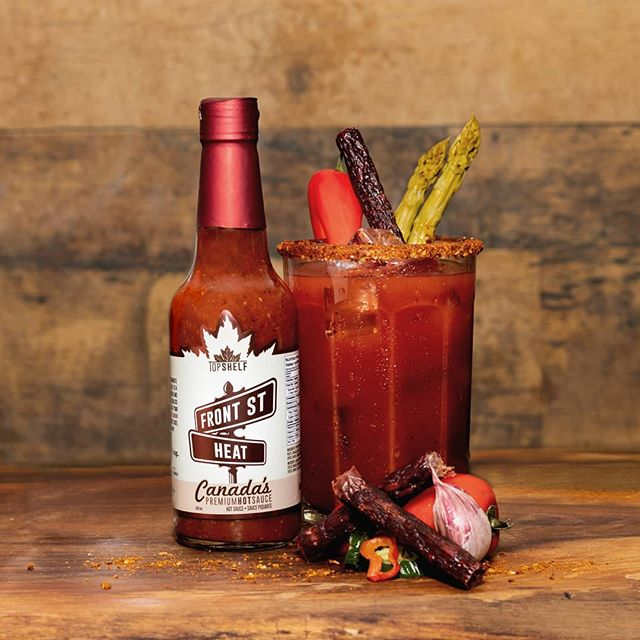 HAPPY NATIONAL CAESAR DAY!!!🇨🇦 This year make yours an All Canadian Caesar with Canada's Premieum Hot Sauce and your favourite Canadian distilled vodka!! #CanadasHotSauce #WeCanDoUs
