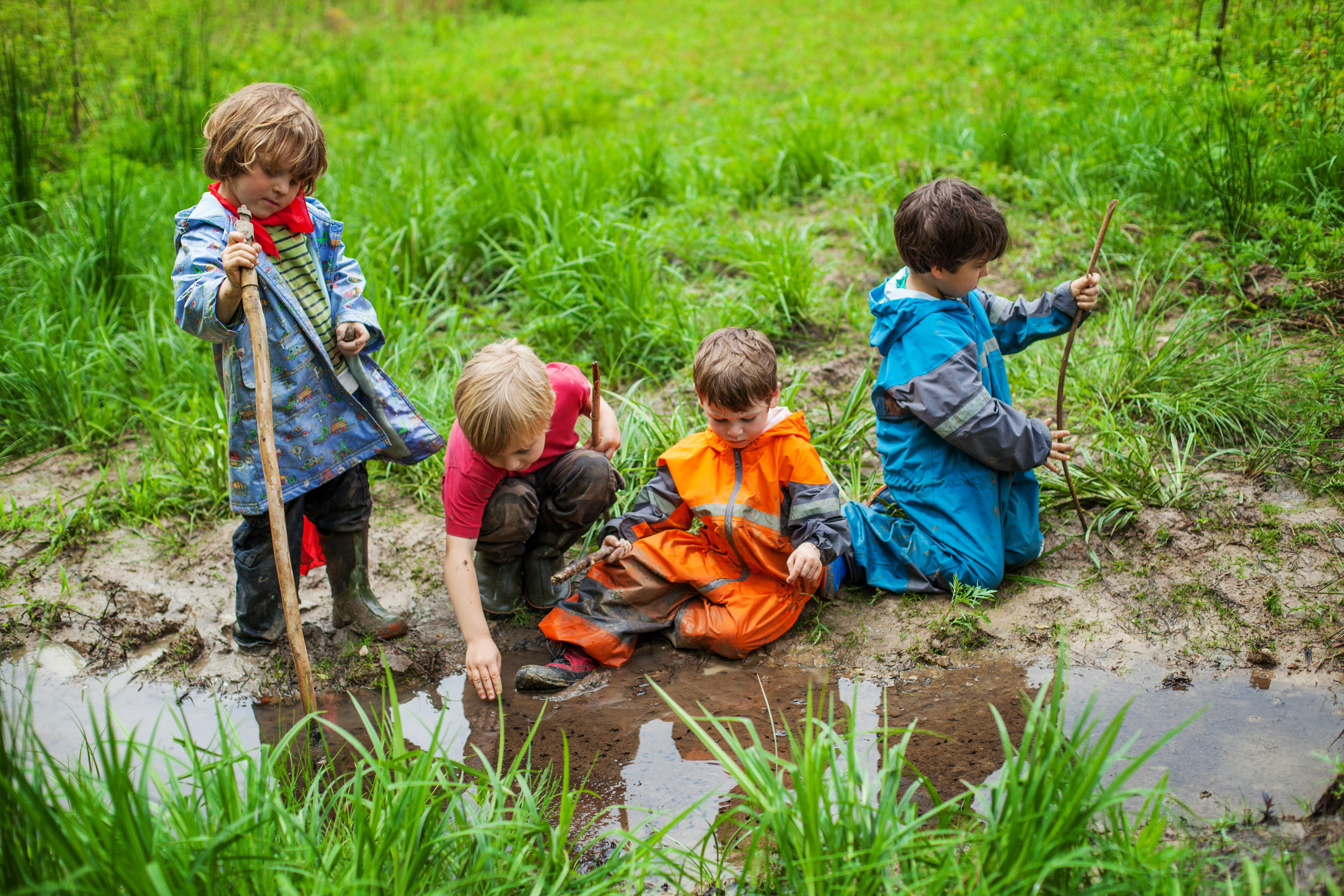 Letting kids explore their world in their own way is critical for them to take ownership of the environment in the future.
