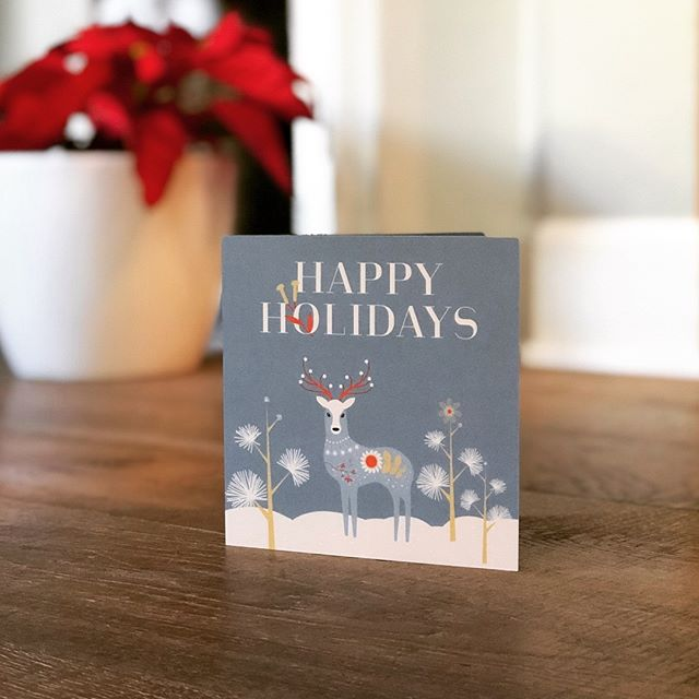 Love seeing designs come to life! Wishing you all a very merry holiday! Custom card design for @medbridgesb  #laurellecreative #graphicdesign #holidaycards #reindeer #danishvibes #printdesign #holidays #christmas #christmascard #print #clientlove #customgreetingcards #customgreeting