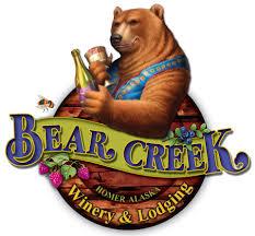 Bear Creek Winery - 60203 Bear Creek DriveHomer, Alaska 99603(907) 235-8481FB: Bear Creek Winery and LodgingIG: @BearCreekWinery