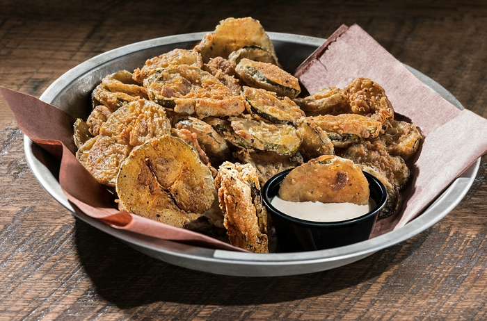 Fried Pickles | DOC's Smokehouse and Craft Bar