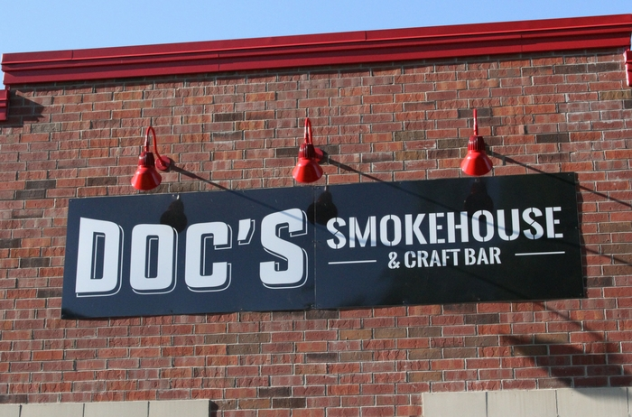 Outside - Dyer | DOC's Smokehouse and Craft Bar