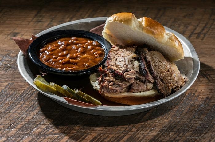 Brisket Sandwich | DOC's Smokehouse & Craft Bar
