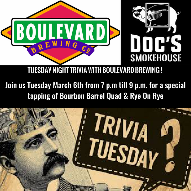 Tuesday Night Trivia with Boulevard Brewing !.png