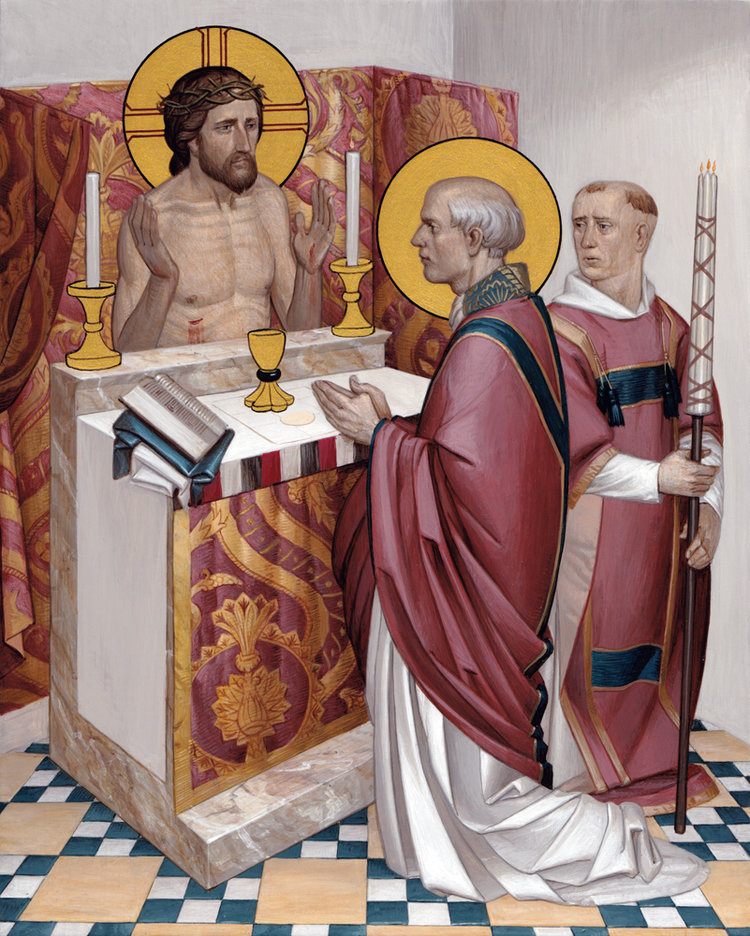 Mass of St. Gregory