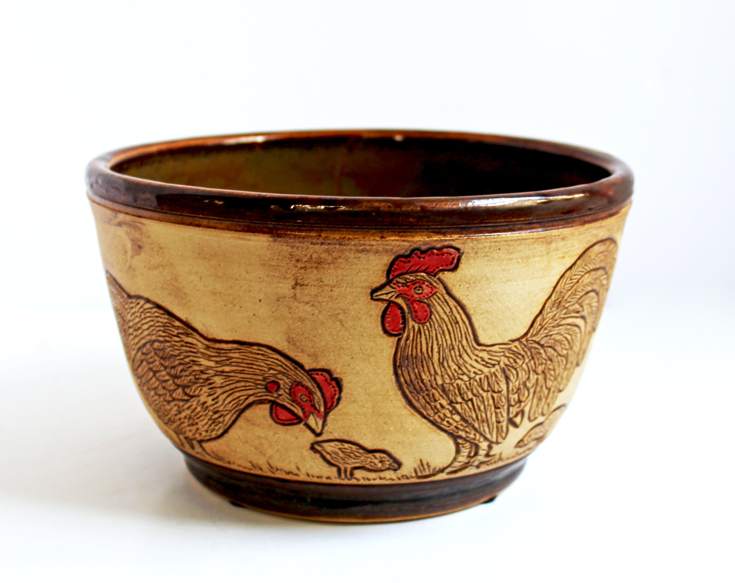 Etched Chicken Bowl