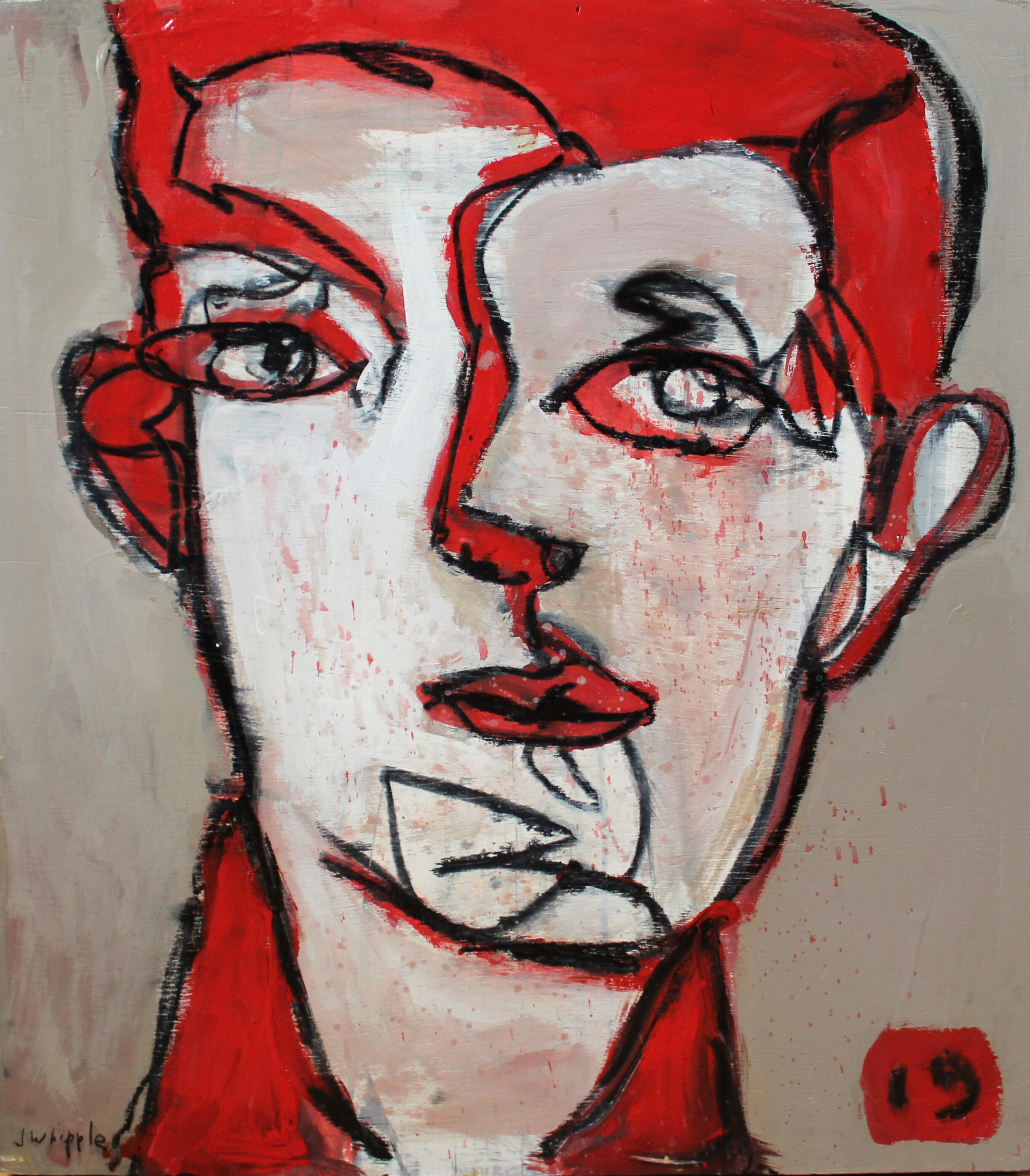 Face Series 2 (Red Man)