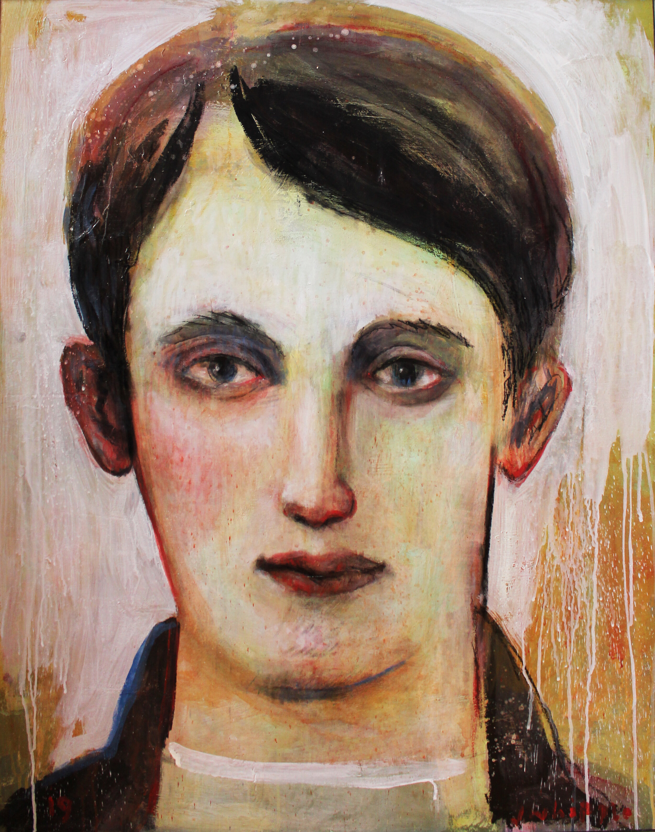 Young Man With Jacket