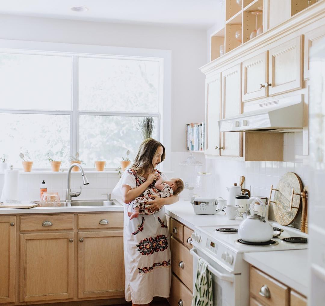 Mom and Daughter in Kitchen .jpg