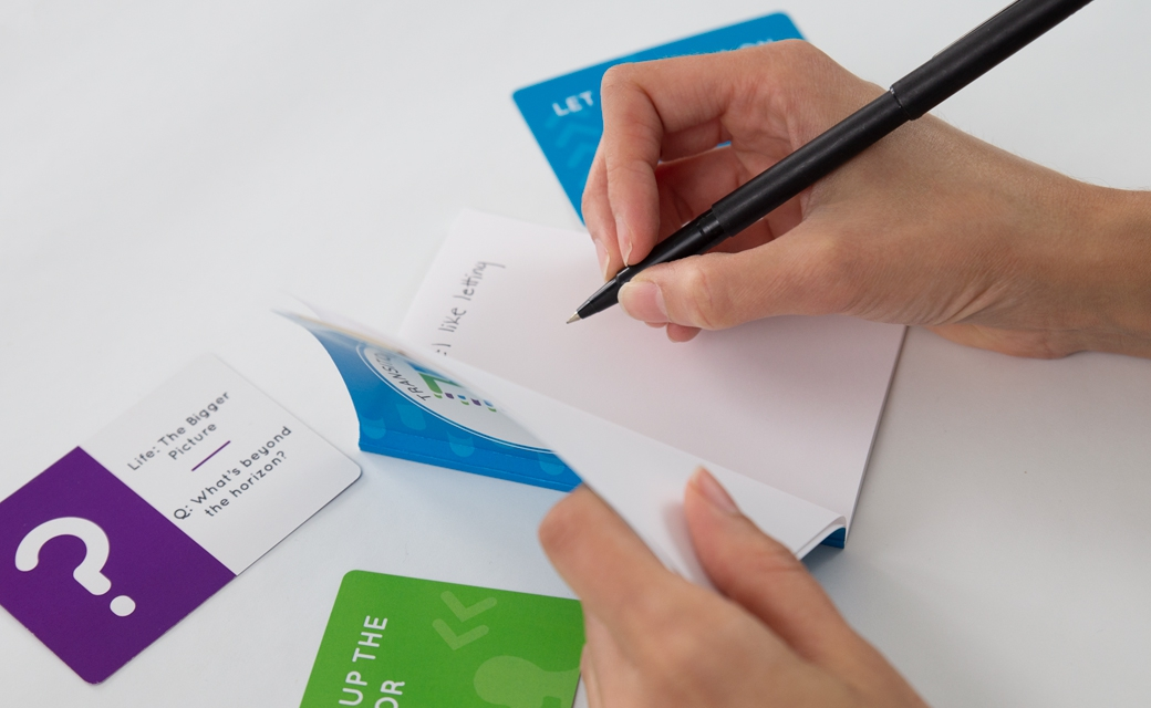 4 - Use the journal to capture any key learnings or actions you want to carry forward.