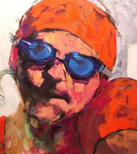 "Us, Oil on canvas, 20"" x 18"""