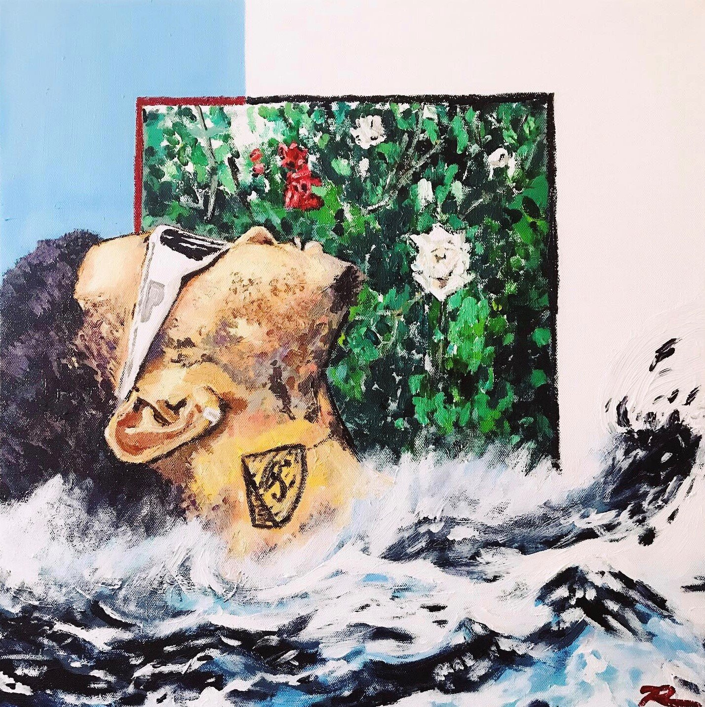 SoulsIVRansom - 24x24 Acrylic on Canvas.