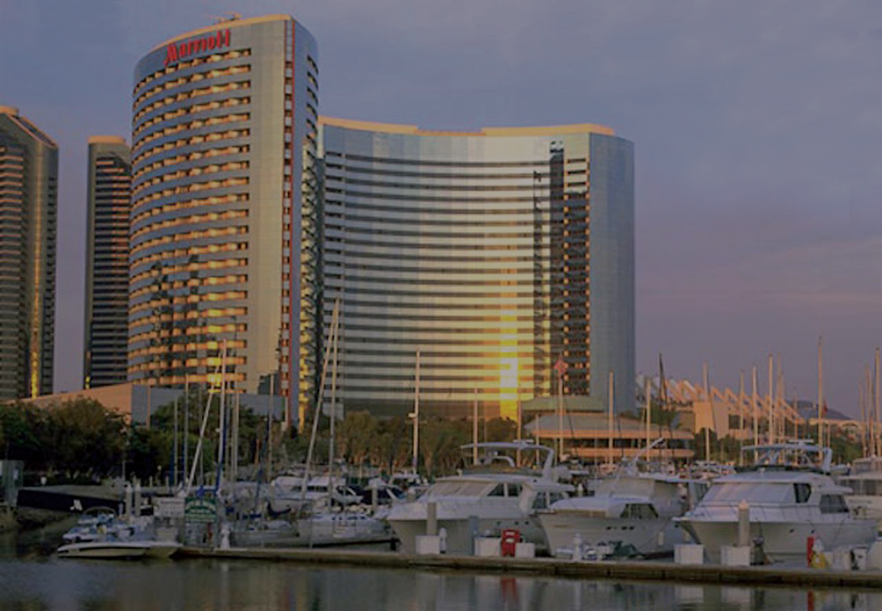 MARRIOTT MARQUIS SAN DIEGO MARINA - 333 WEST HARBOR DRIVE SAN DIEGO, CA 92101ROOM RATES start at $269 (cut-off date January 18) Register Online or Call: 1 (877) 622-3056