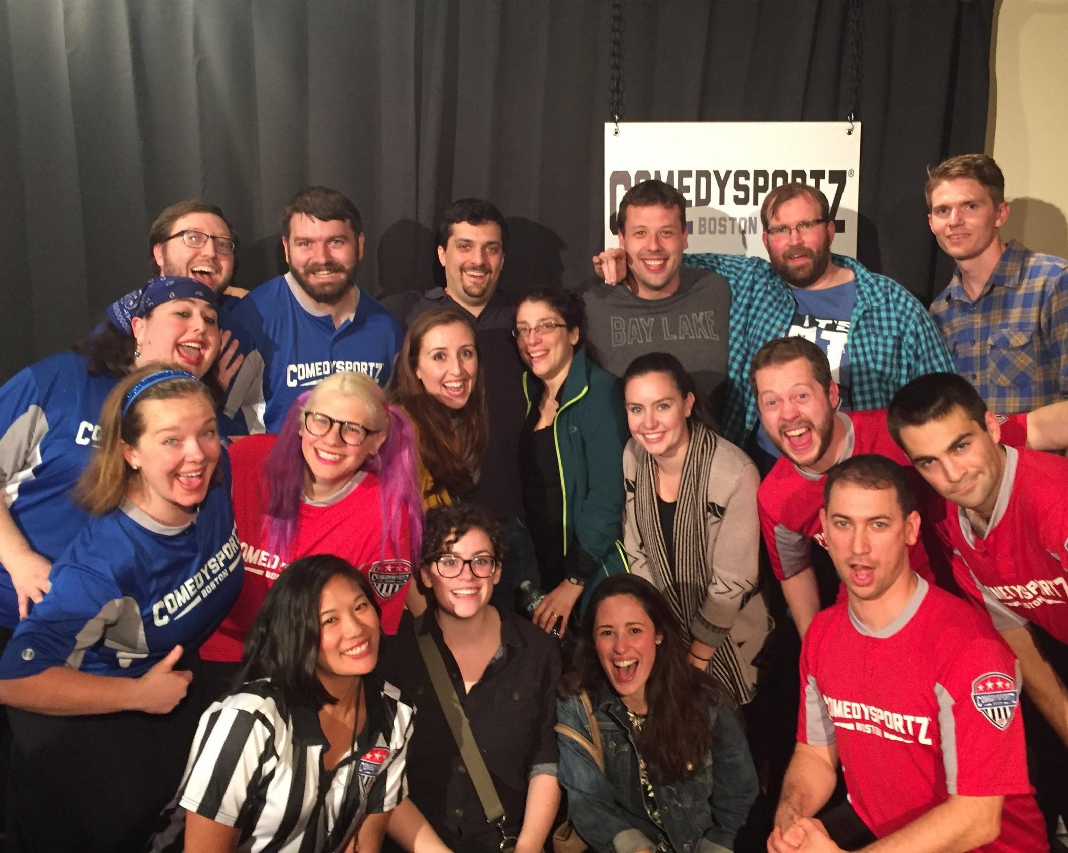 Bachelor & Bachelorette celebration at ComedySportz!