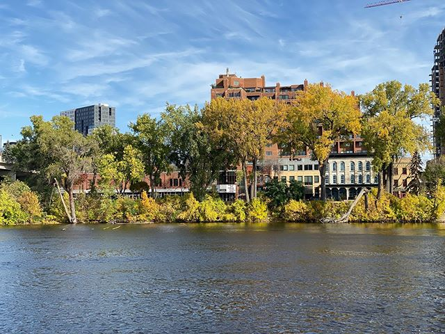 Fall in Minnesota #Fall #minnesota #minneapolis #msp #autum #river #stanthonyfalls
