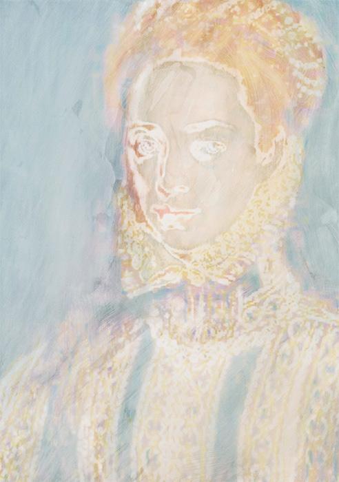 Coello (La Dama del Abanico), Erased Fragment