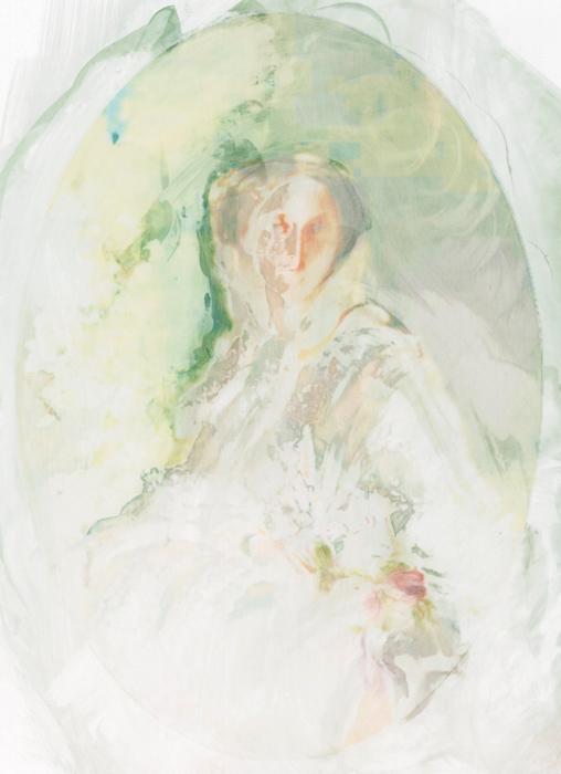 "Amanda Clyne, ""Winterhalter (Olga), Erased"", erased photograph, 2013"