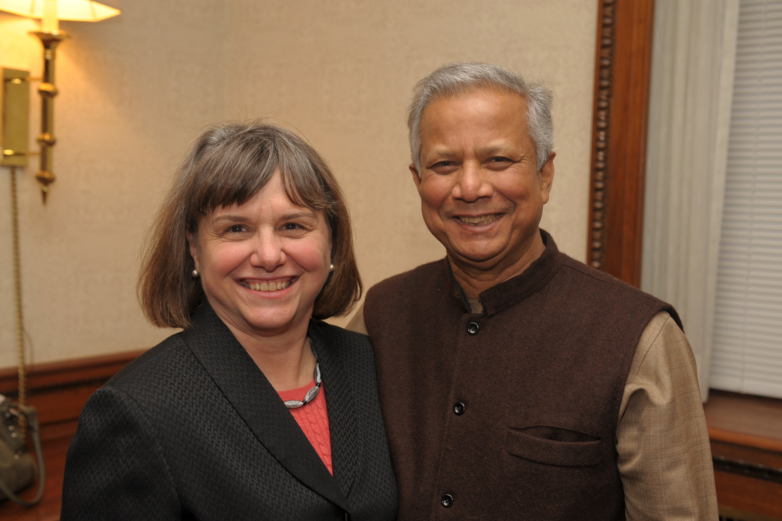 Introducing Dr. Mohammad Yunis of Grameen Bank at the Syracuse University Speaker Series (2010)