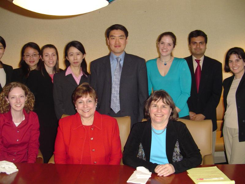 Maxwell Humanitarian action class visit to New York with UNICEF Executive Director Ann Veneman (2006)