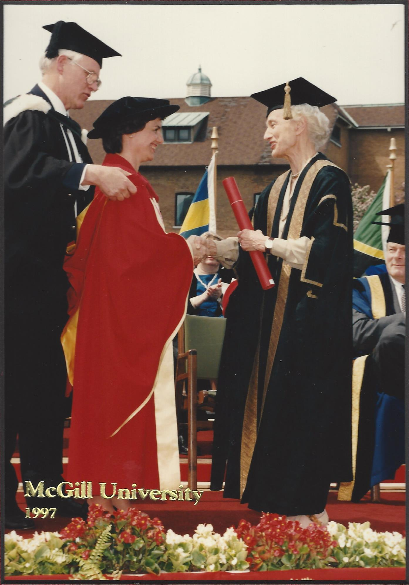 McGill University Honorary Degree (1997)