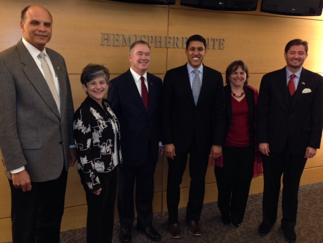 Presidential Appointees to Board of BIFAD with USAID Administrator Rajiv Shah (2015)