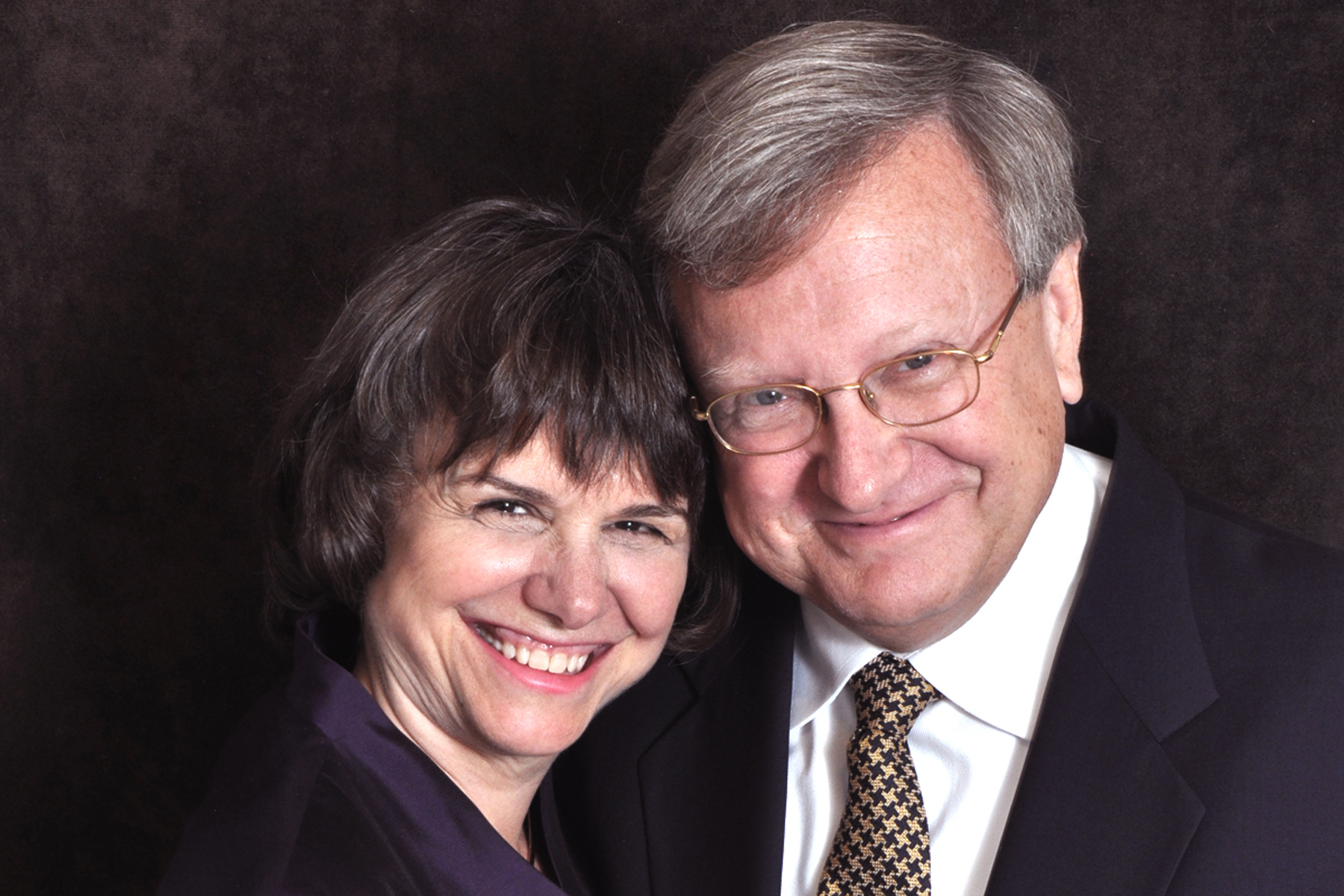 Catherine Bertini and Tom Knobel (2011)