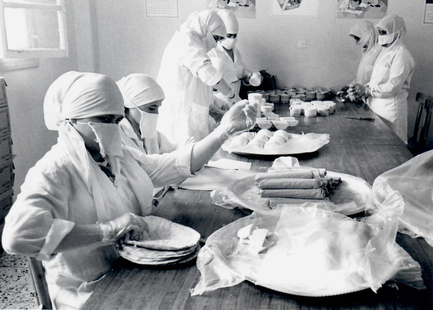 Afghanistan bakery for widows (2002)